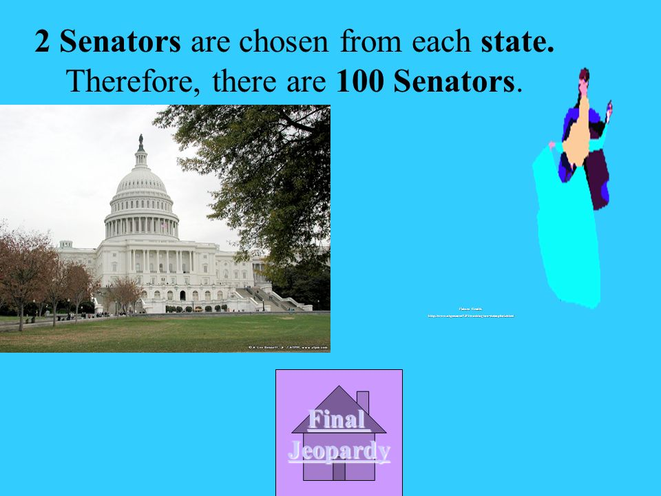 How many Senators are chosen from each state. A.