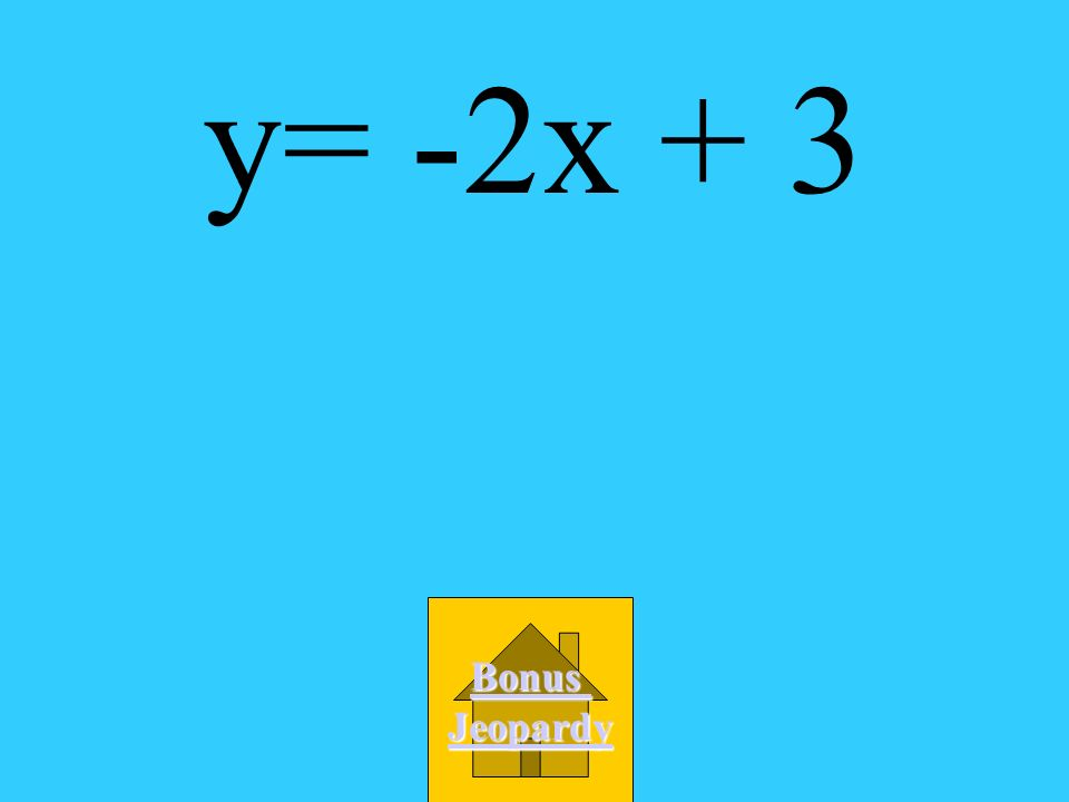 Which is an equation of the line that passes through (4,-5) and (6,-9)? A. y = 1/2x - 3 B. y = 1/2x + 3 C. y = -2x + 3 D. y = 2x - 3