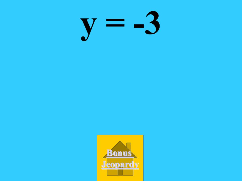 What is the equation of the line through (-2,-3) with a slope of 0? A. x = -2 B. -2x - 3y = 0 C. y = -3 D. -3x + 2y = 0