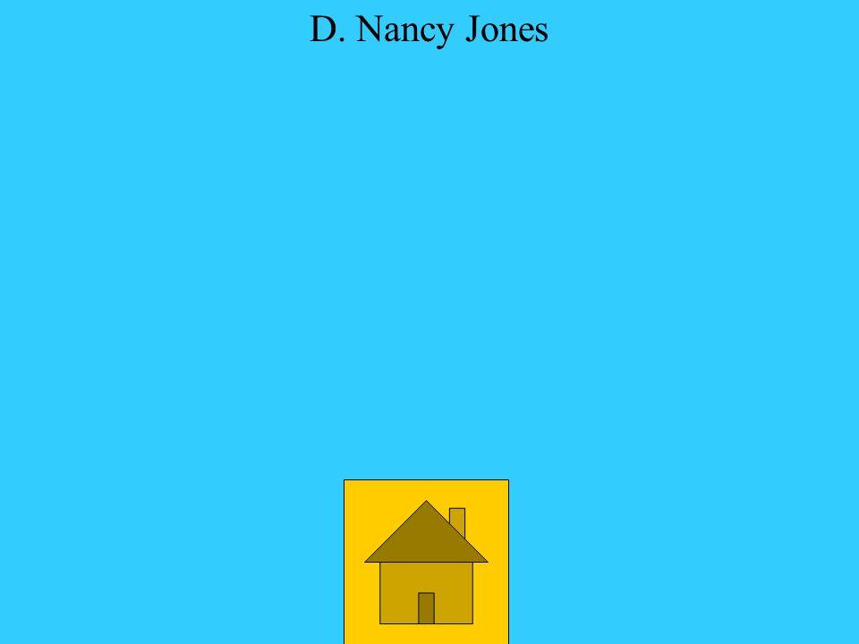 Who has worked for Ronald Carrier? A. Jane Ritchie D. Nancy Jones C. Edgar Bartley B. Gene Pfoutz