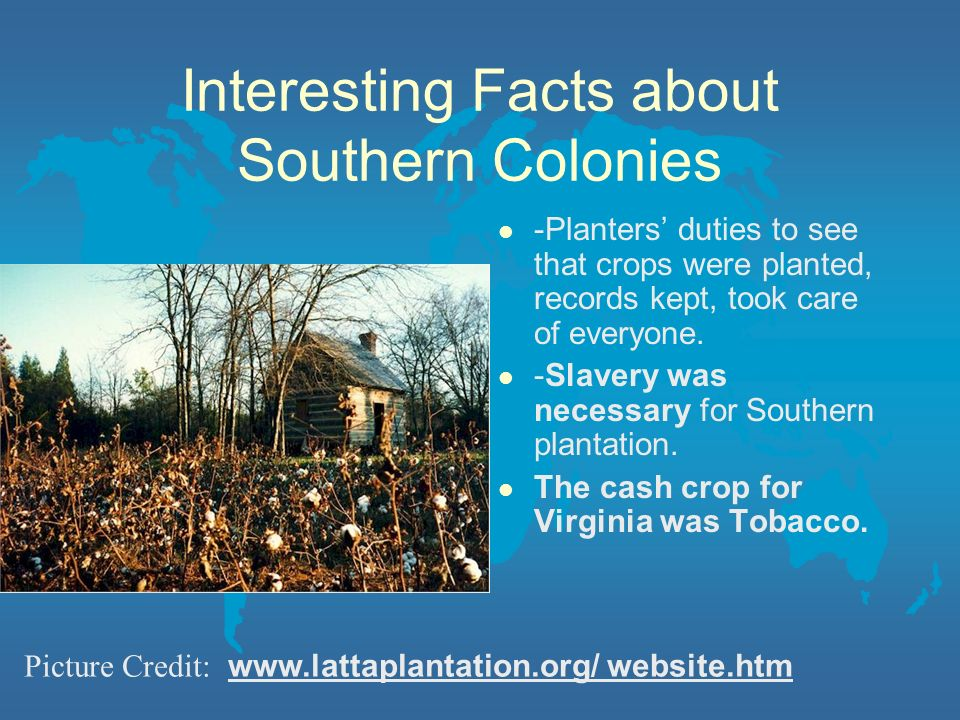 People Groups l -Maryland was a safe place for Roman Catholics. l -South Carolina settled by French. l -Georgia founded by Oglethorpe for new start fo