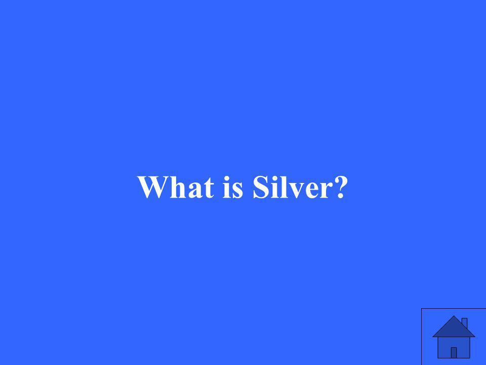 What is Silver?