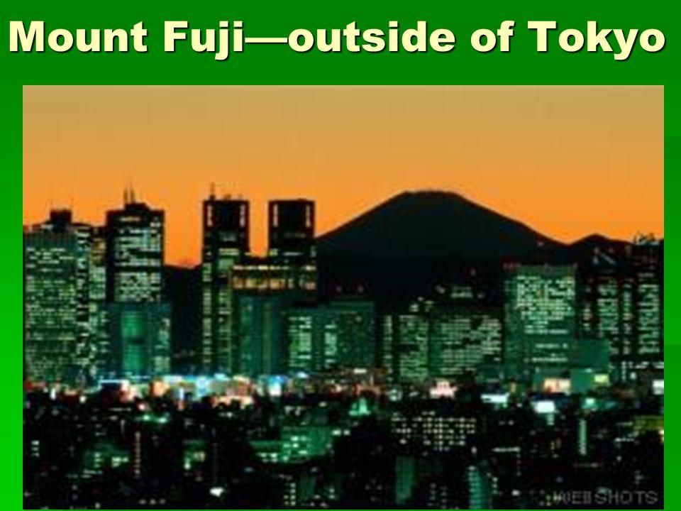Mount Fujioutside of Tokyo