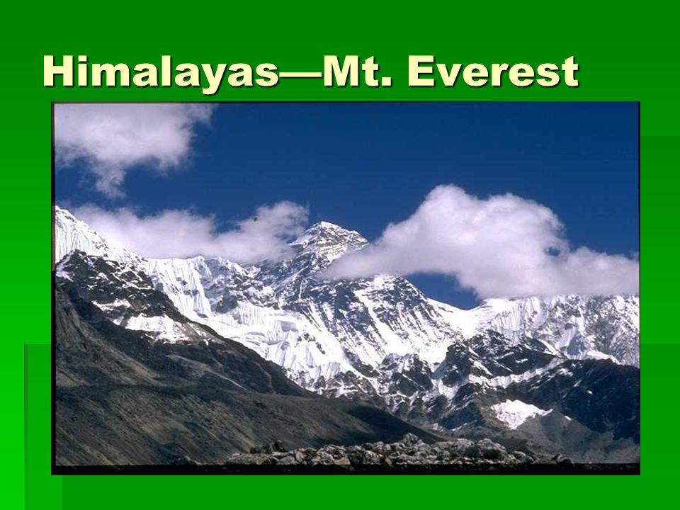 HimalayasMt. Everest