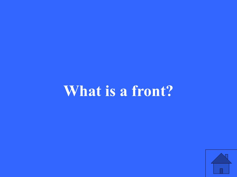 What is a front?