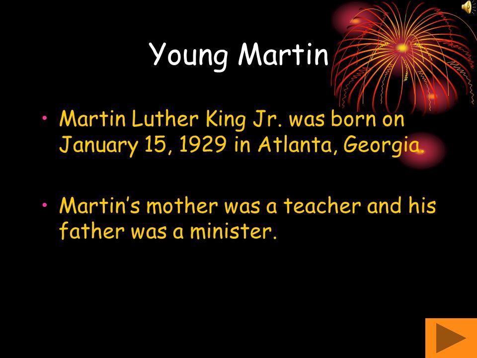 Happy Birthday Martin Luther King Kindergarten Bettie F. Williams Elementary