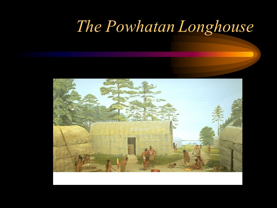 The Powhatan Longhouse