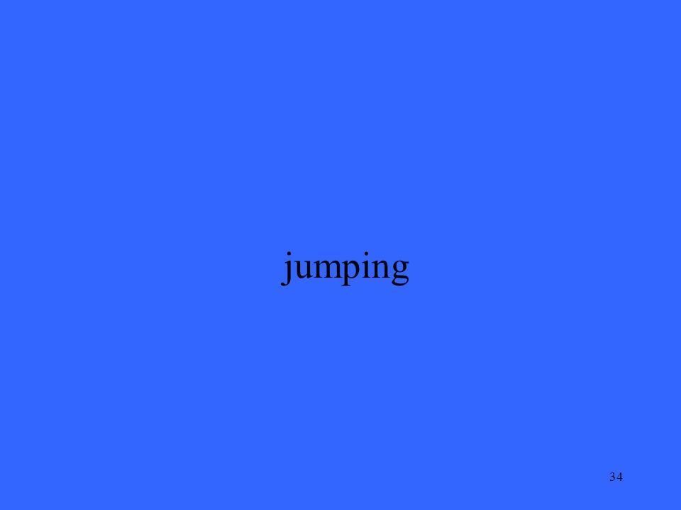34 jumping