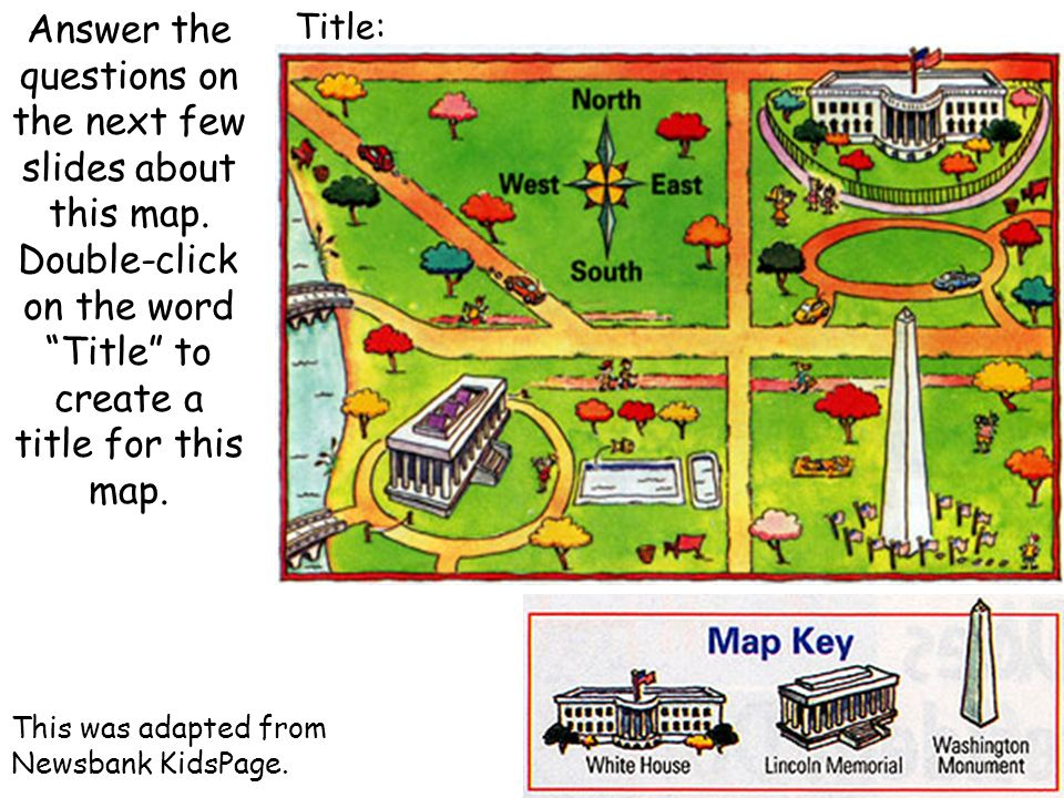Answer the questions on the next few slides about this map.