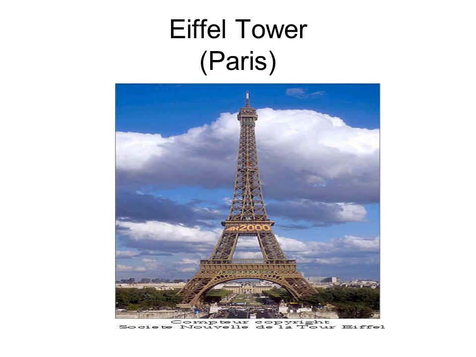 Eiffel Tower (Paris)