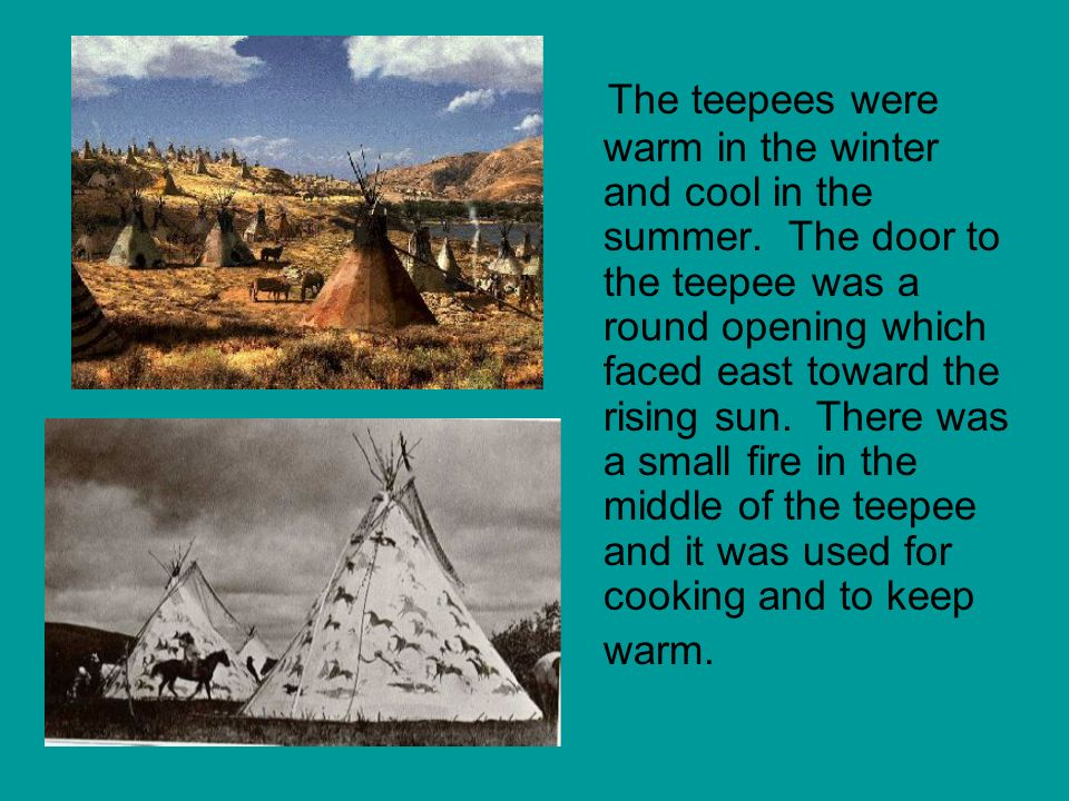 Occupation The Lakota were hunters and horsemen.