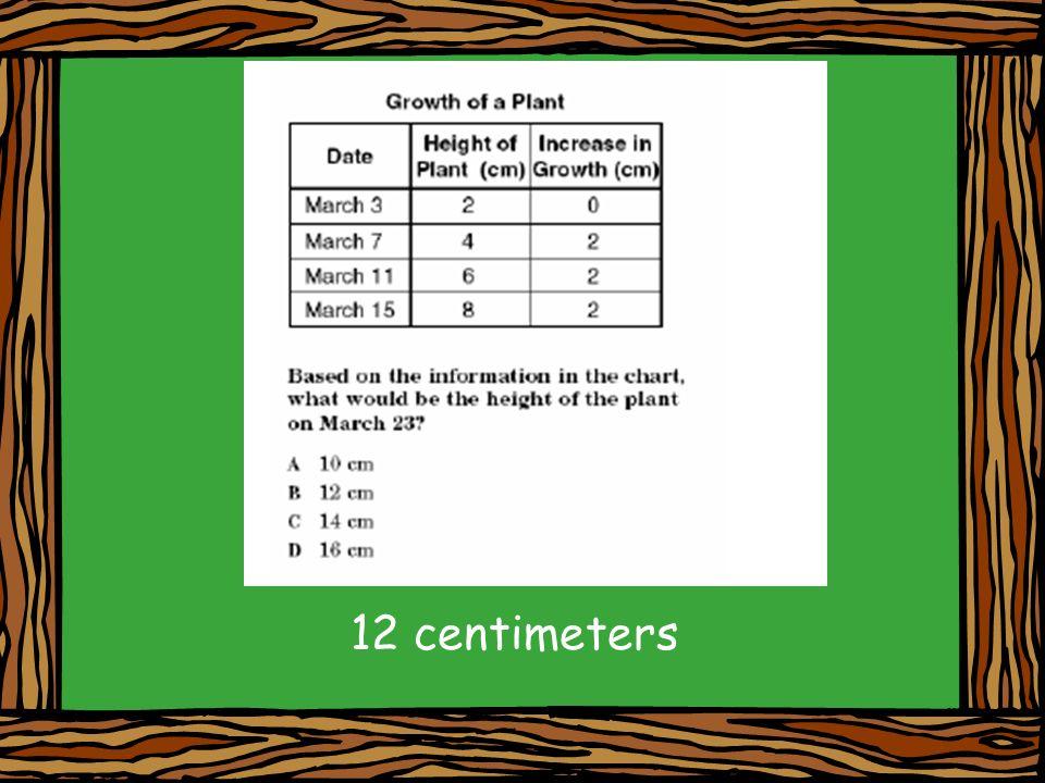 12 centimeters