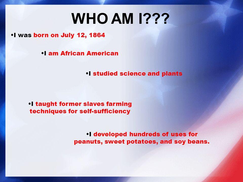 WHO AM I??.