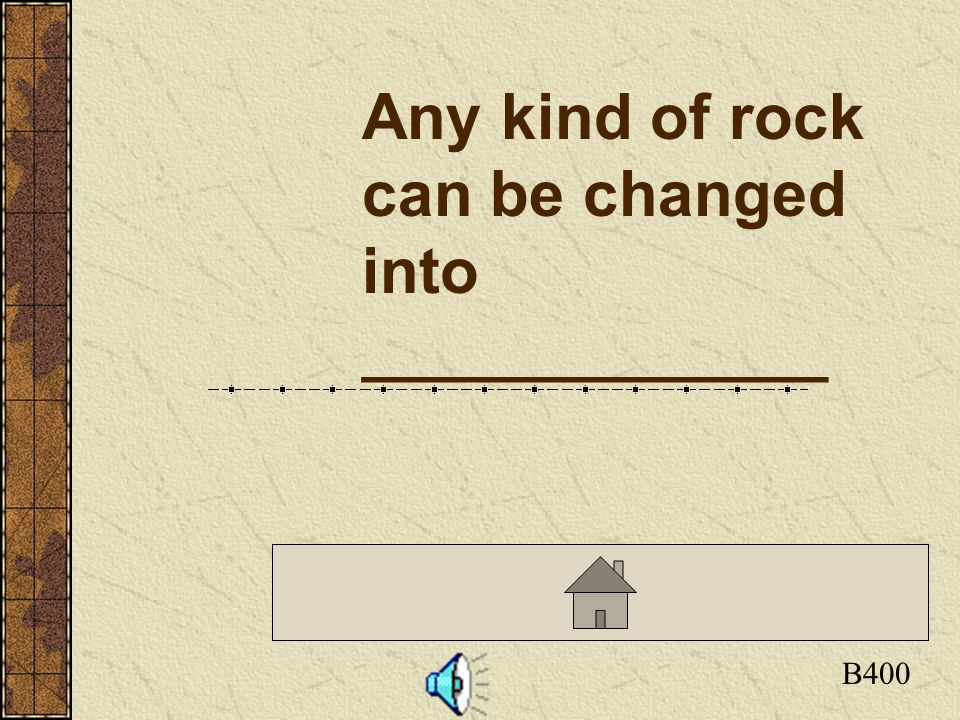 Click here to return to the Board A100 What are Sedimentary rocks? Rocks that are formed by...