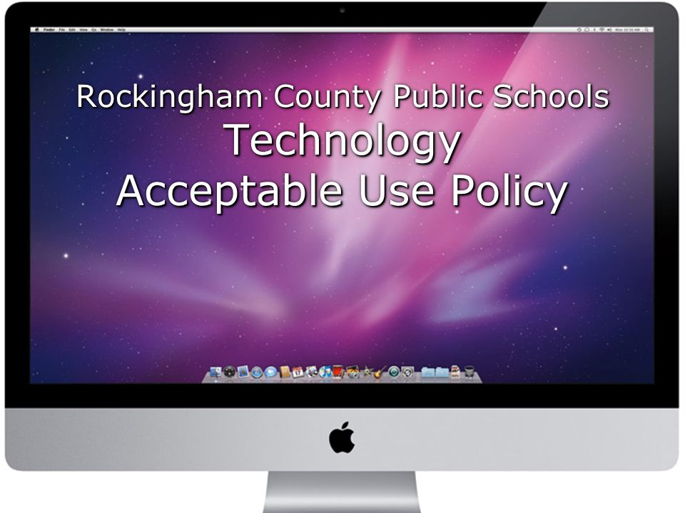 Rockingham County Public Schools Technology Acceptable Use Policy