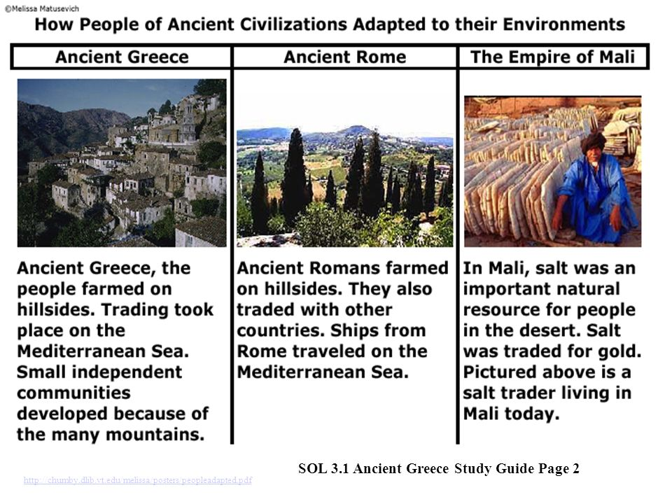 http://chumby.dlib.vt.edu/melissa/posters/peopleadapted.pdf SOL 3.1 Ancient Greece Study Guide Page 2