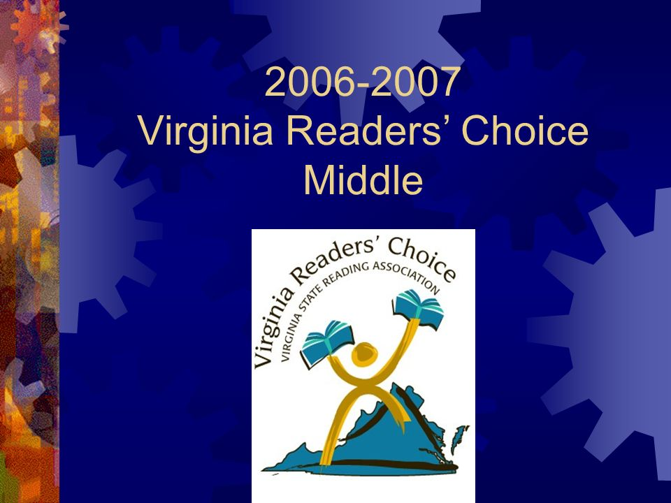 2006-2007 Virginia Readers Choice Middle