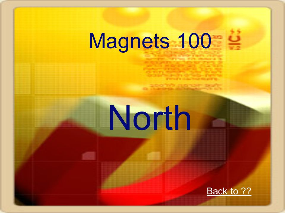 Magnets 100 North Back to