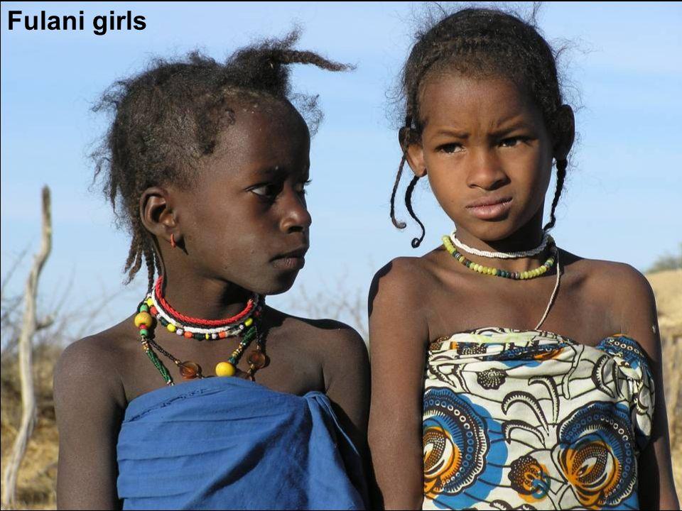 Fulani girls