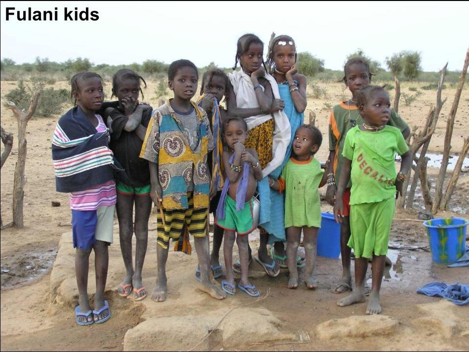 Fulani kids