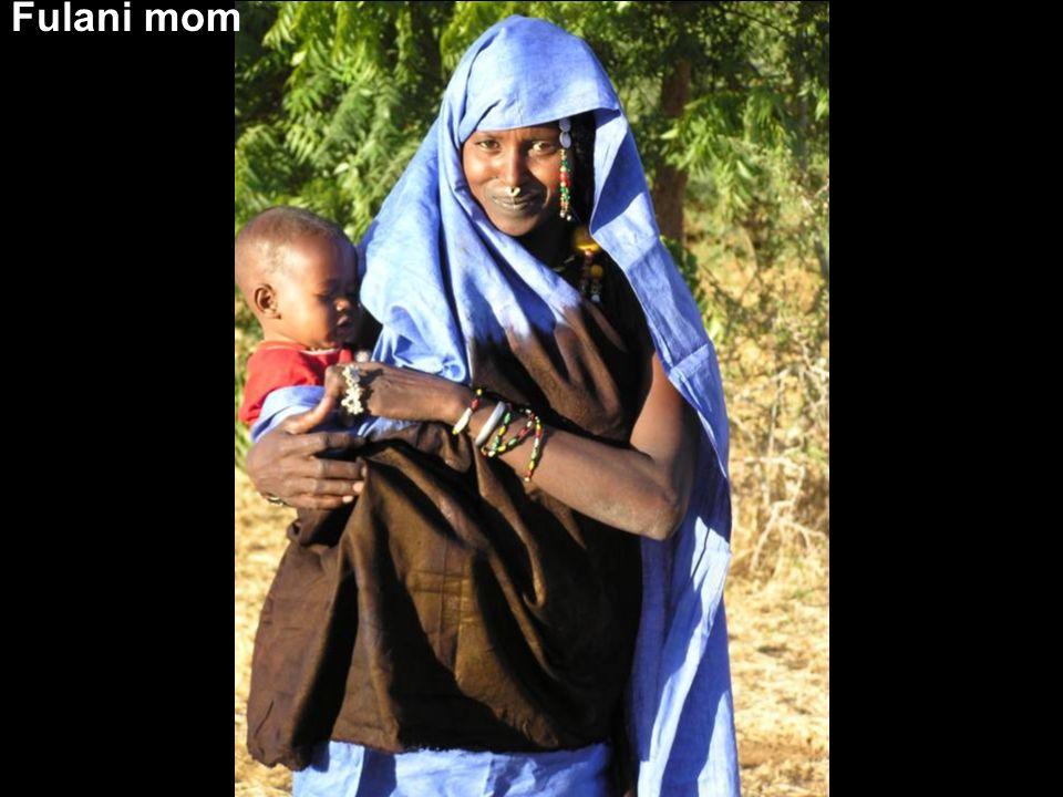 Fulani mom