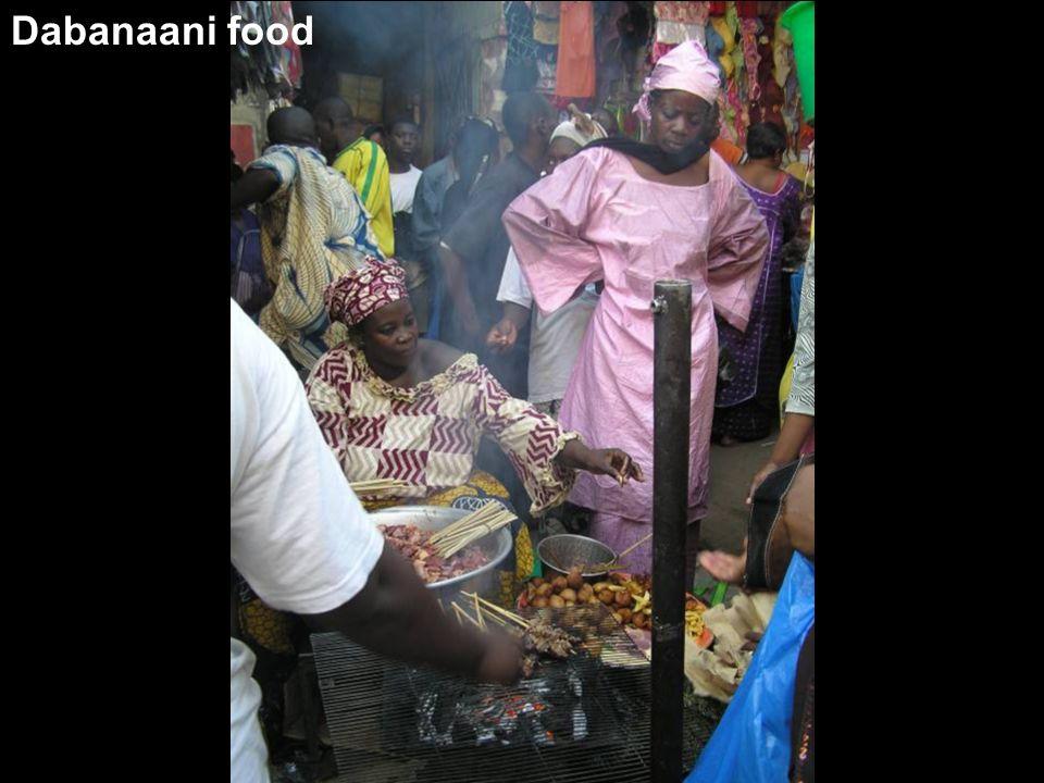 Dabanaani food