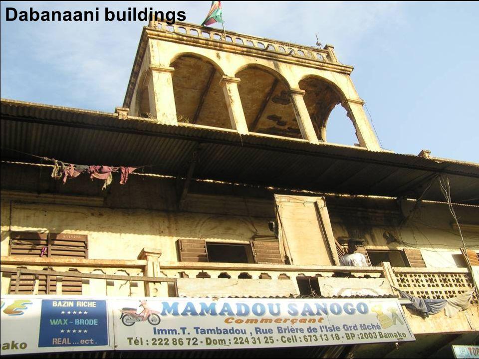 Dabanaani buildings