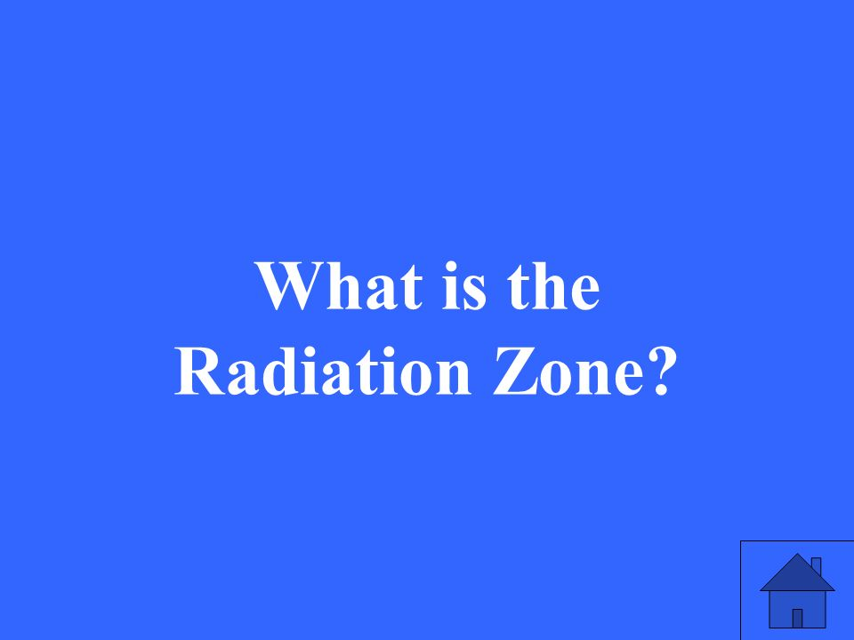 What is the Radiation Zone?