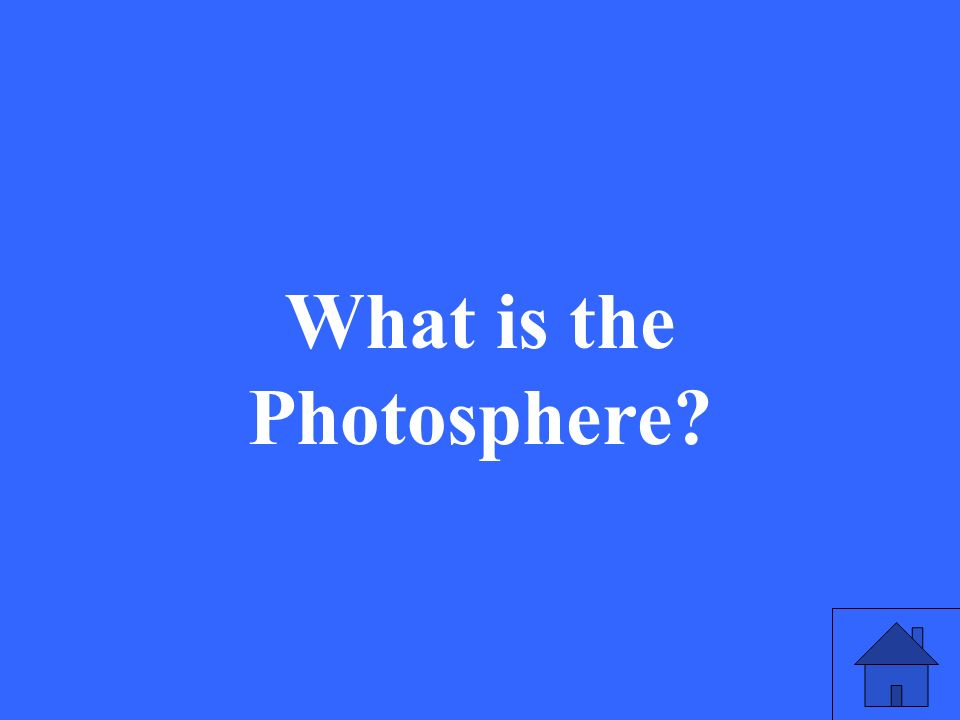 What is the Photosphere?