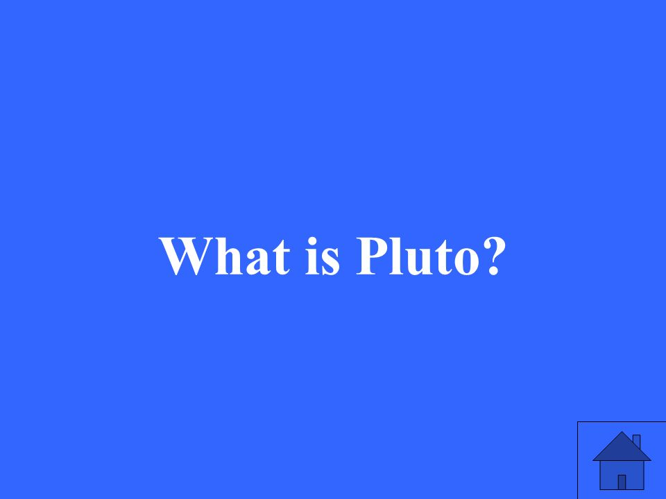 What is Pluto