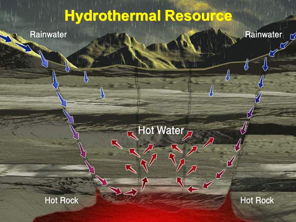 G E O T H E R M A L Hydrothermal Resource