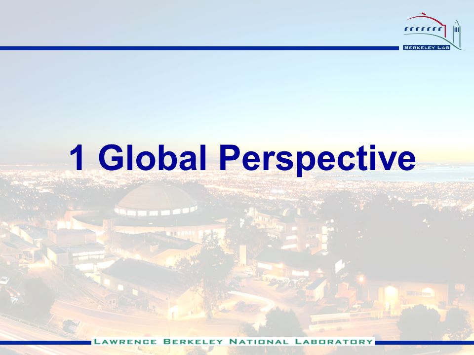 1 Global Perspective