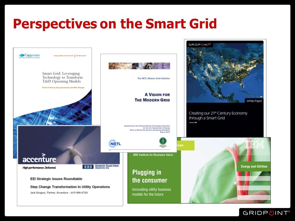20 Perspectives on the Smart Grid