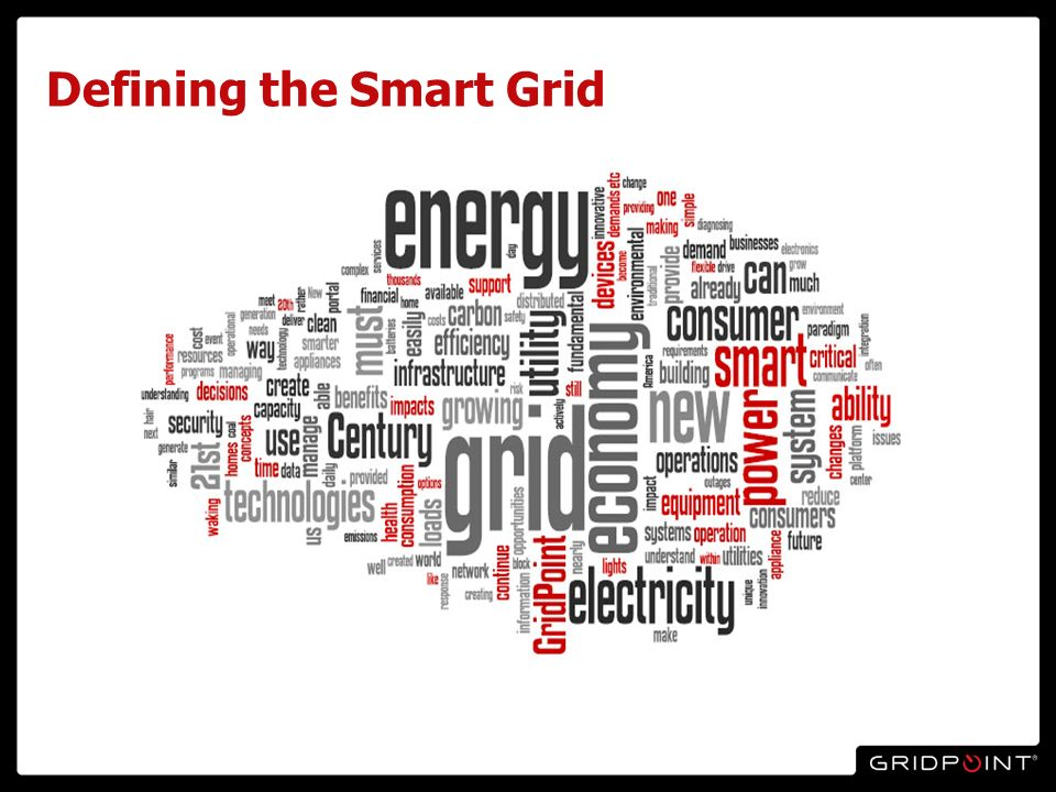 Defining the Smart Grid