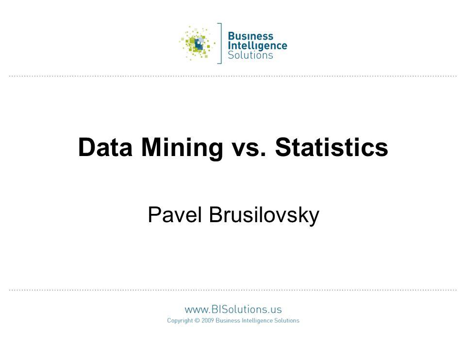12 Statistics vs.