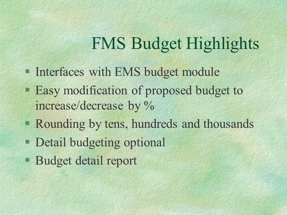 9/28/99 FY 00 WEST VIRGINIA TEST CLIENT 15:36:36 QPADEV0009 FMS Budget Development Maintenance Ref: BUD.601.11 Account 11.00000.11111.111.505.0000.0000.00 Show PROFESSIONAL REG SALARY Detail.