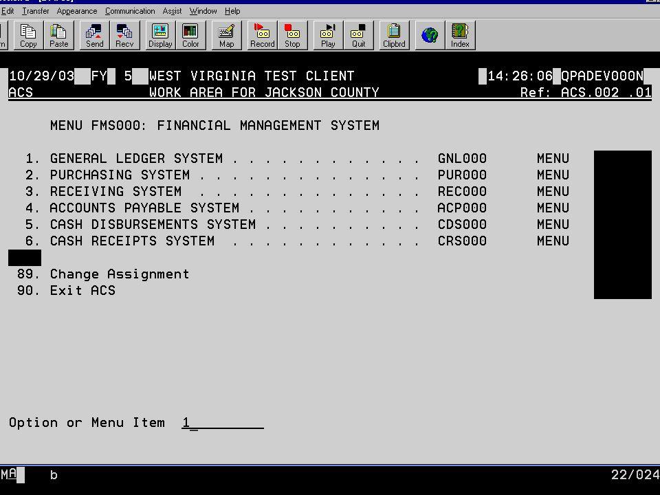 Display Spooled File File.....: OGNL901S Page/Line 1/3 Control.....