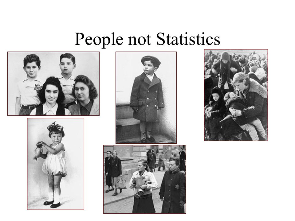People not Statistics