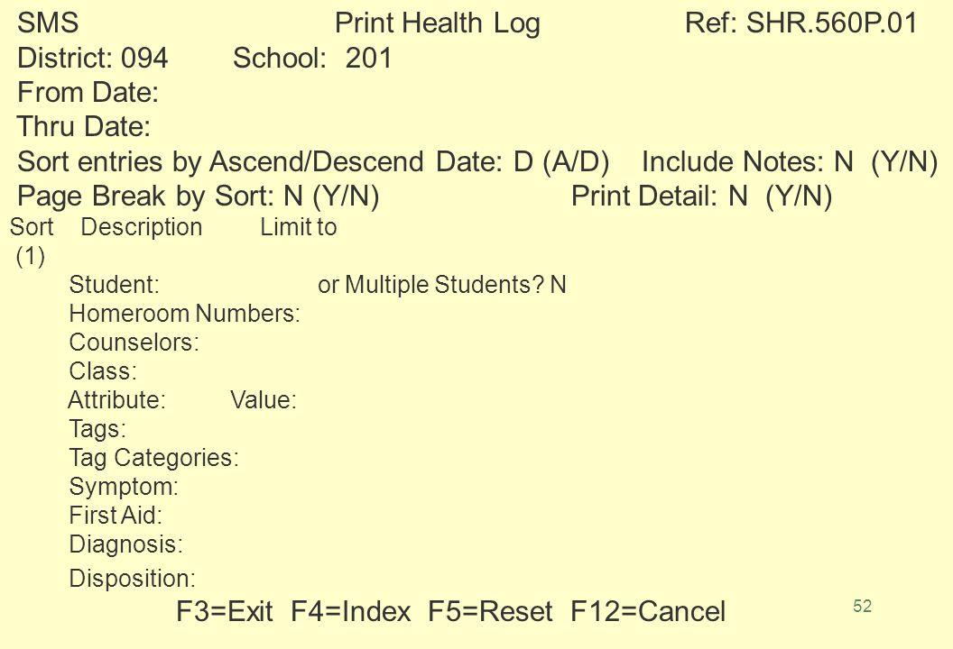 51 * 2214. STUDENT 04 7/06/89 10 XXXXX ROBERT A. (304) 655-7186 108 PHYLLIS E * 3639.