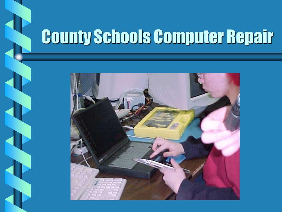 County Schools Computer Repair