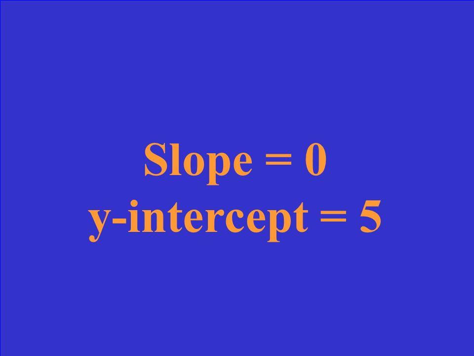 y = x + 7