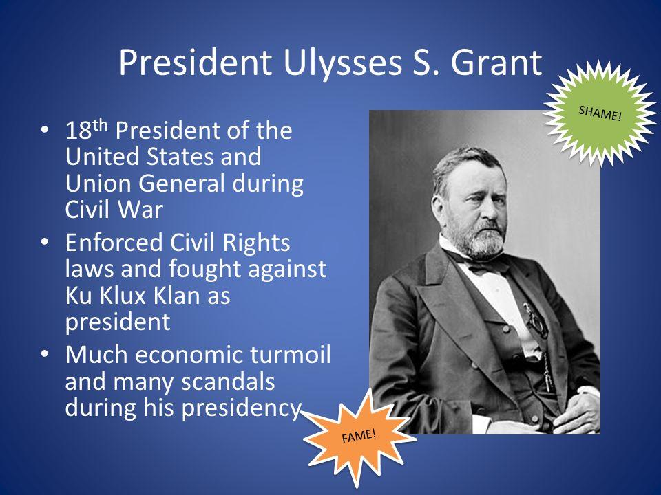 President Ulysses S.