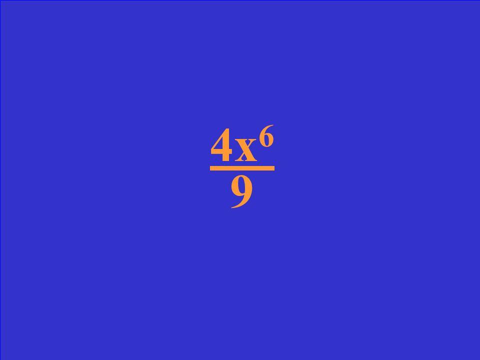 ( ) 2 2x 4 3x