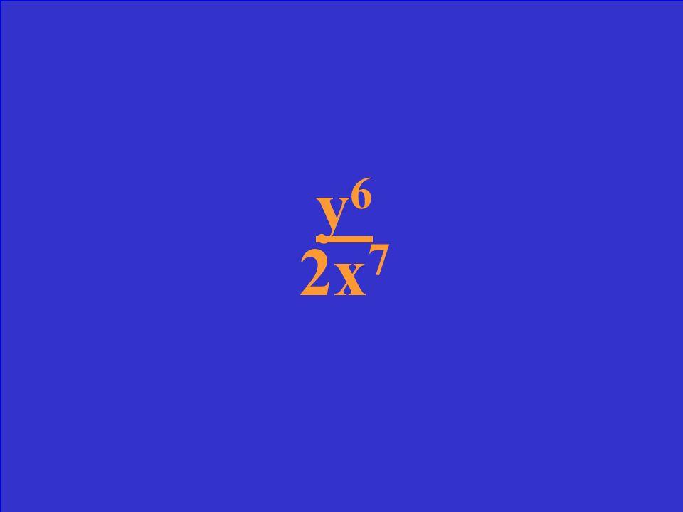 3x -5 y 6x 2 y -5