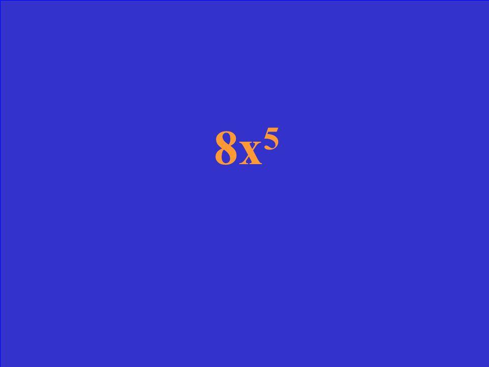 2x 2. 4x 3