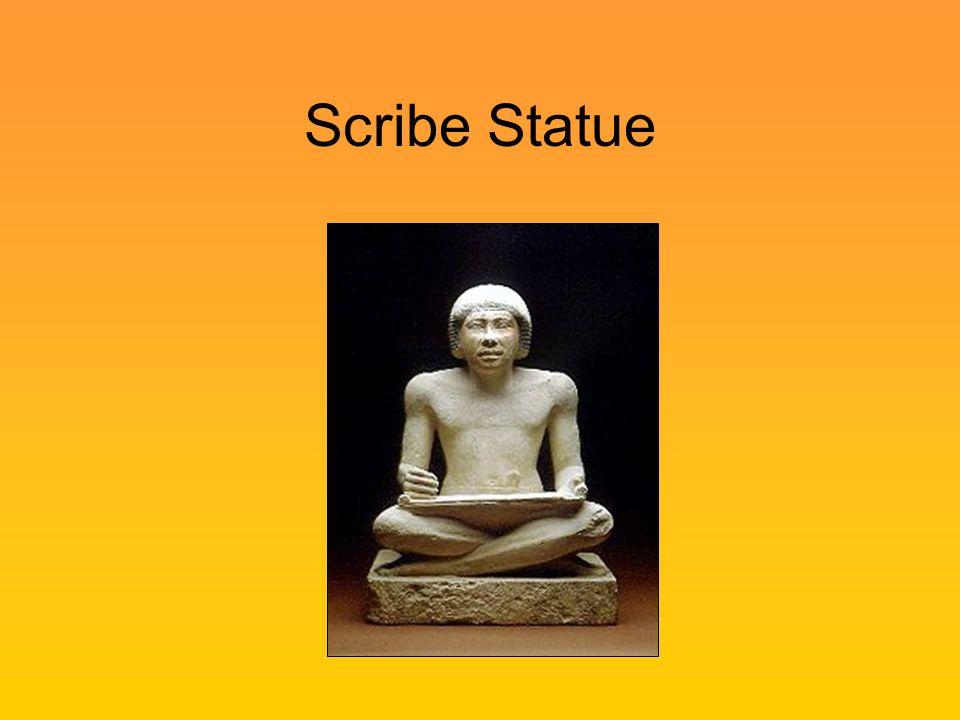 Scribe Statue
