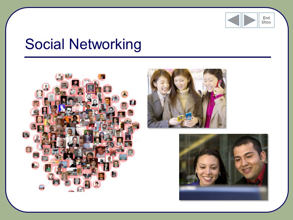 End Show Social Networking