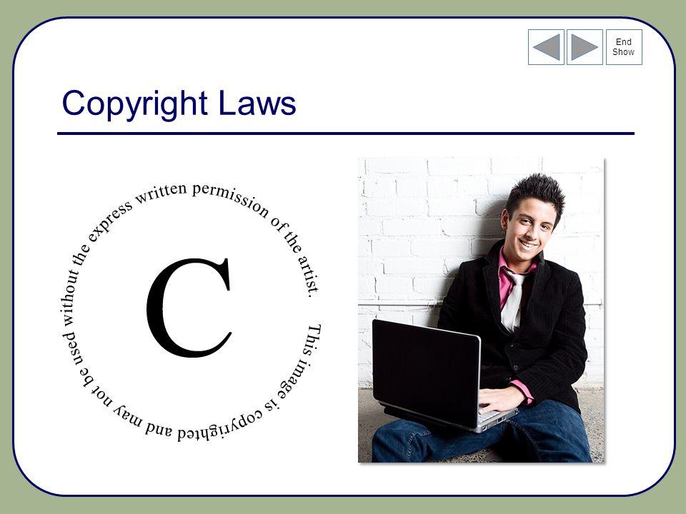 End Show Copyright Laws