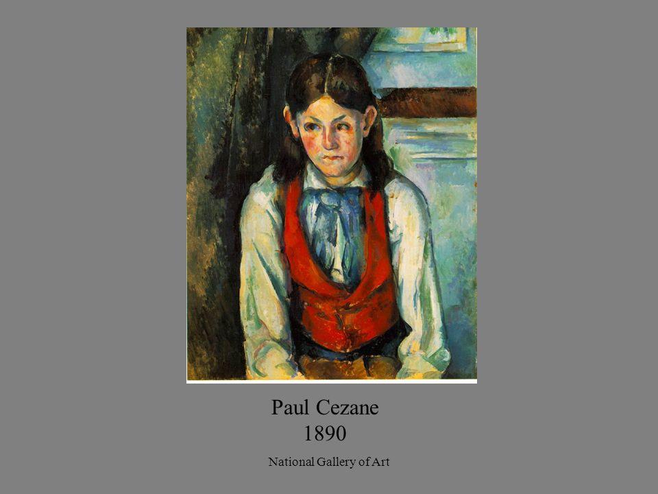 Paul Cezane 1890 National Gallery of Art