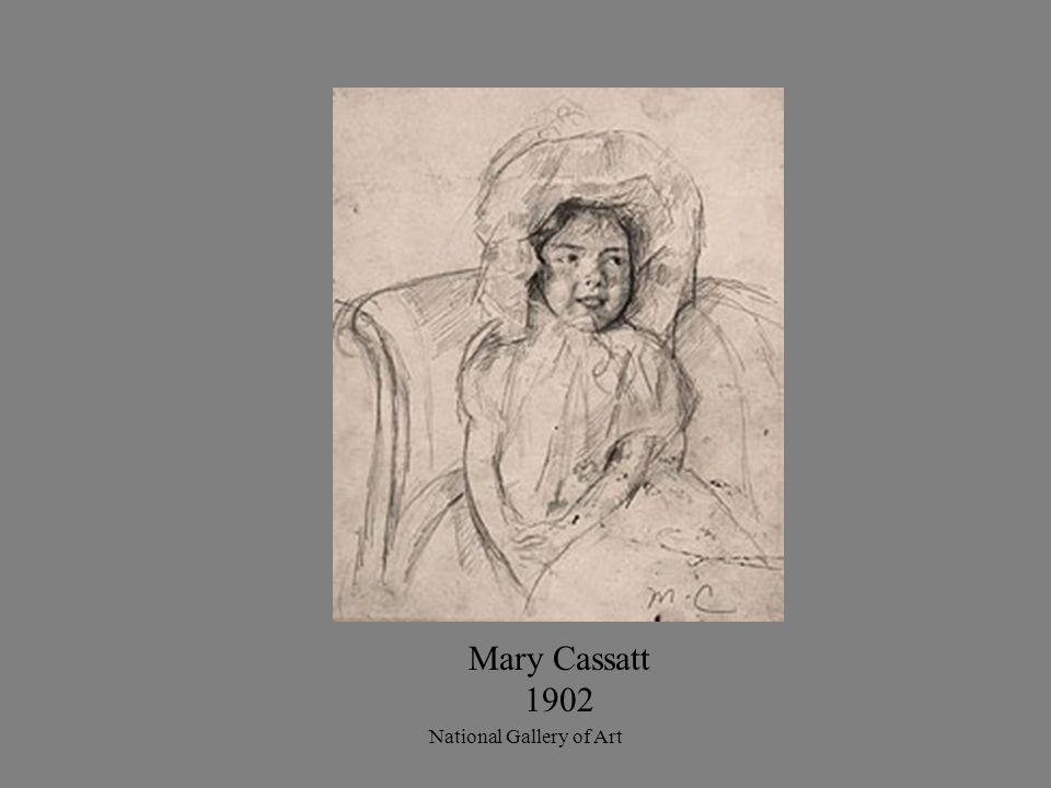 Mary Cassatt 1902 National Gallery of Art